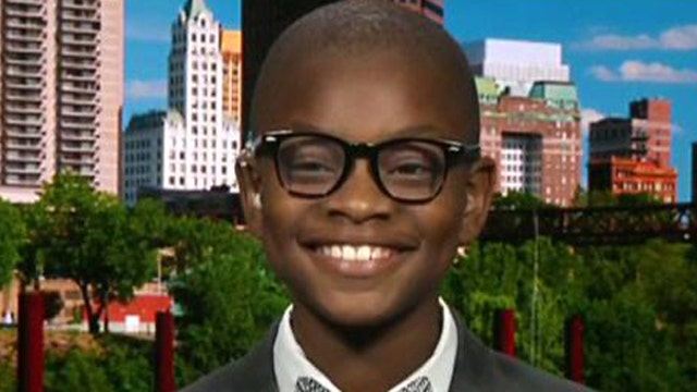 Young entrepreneur Moziah Bridges started his own bow tie company – and is selling thousands of them.
