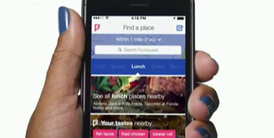Foursquare CEO Dennis Crowley explains his new app that sends personalized location recommendations.