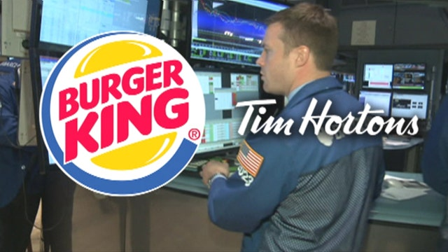 FBN's Jo Ling Kent on Burger King in talks to buy the Canadian coffee and donut maker Tim Hortons.