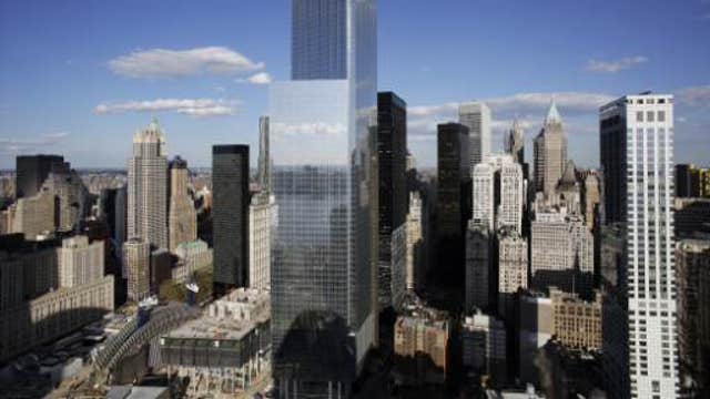 Swift, 'green' elevators that echo Four World Trade Center's minimalist architecture are set to lift tenants more than 900 feet into the sky.