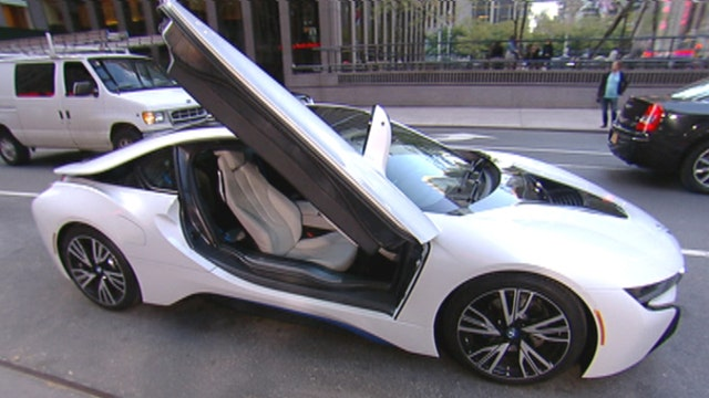 BMW I8 hybrid the sports car of the future?