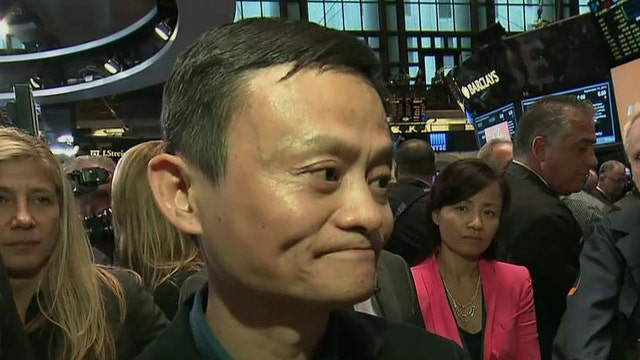 Alibaba Group founder and Executive Chairman Jack Ma joins FBN's Jo Ling Kent at the NYSE on opening day for BABA to talk about China's government, business and what he plans to do with the money from the IPO.