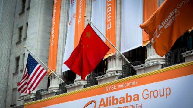 FBN's Nicole Petallides on Alibaba's historic trading debut.