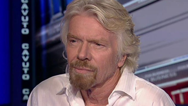 Virgin Group founder Sir Richard Branson on managing a company successfully and the progress of the company's space program.