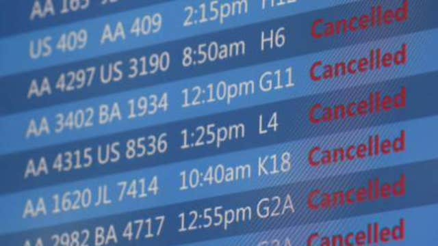 FBN's Jeff Flock with the latest on the flight delays at Chicago's O'Hare Airport.