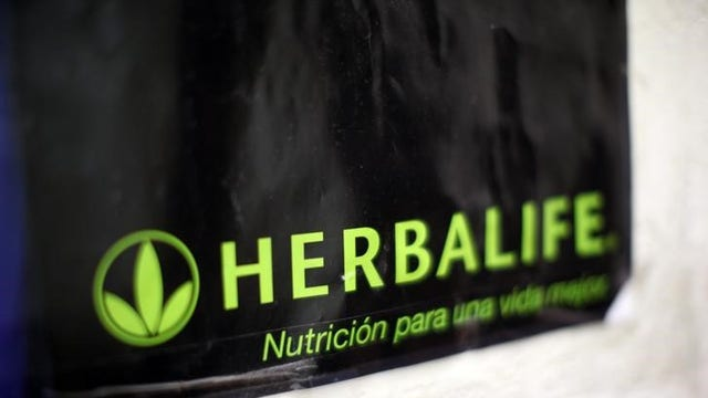 FBN's Charlie Gasparino says Herbalife tells investors it will avoid a government shutdown after the FTC probe.