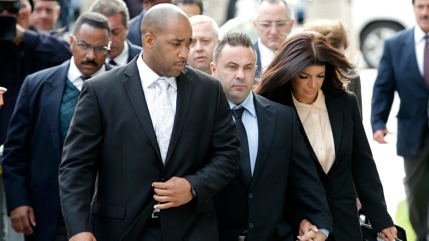 """Former """"Real Housewives of NJ"""" star Danielle Staub discusses Joe and Teresa Guidice's prison sentence."""