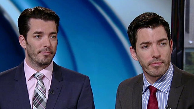 "Jonathan Scott and Drew Scott of HGTV give tips for navigating the housing market and discuss the debut of their new show ""The Property Brothers at Home"" on HGTV."