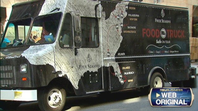 FBN's Seana Smith on the business strategy and charity behind Four Seasons' food truck.