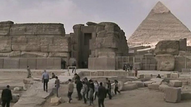 General Tours President Bob Drumm on Egypt launching a campaign to lure tourists.