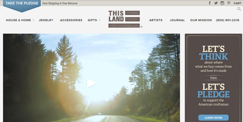 FBN's Charles Payne on U.S. Marine veteran Dan McCready's new e-commerce website This Land.