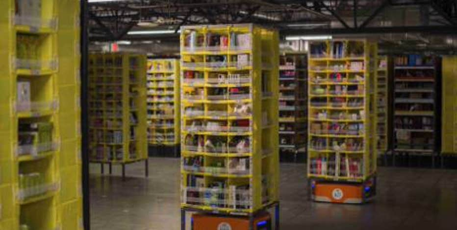 FBN's Jo Ling Kent with an inside look at Amazon's fulfillment center in Tracy, California as the company and its robots get orders ready on Cyber Monday.