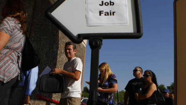 FBN's Ashley Webster breaks down the latest weekly jobless claims data.