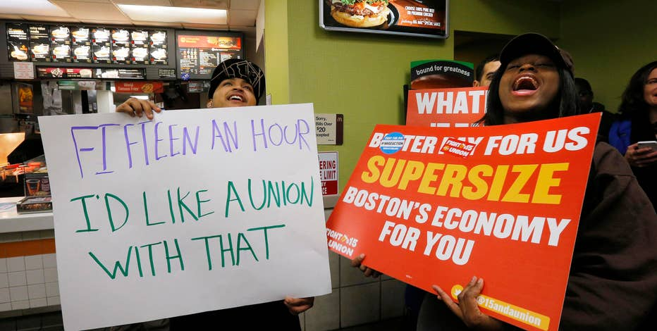White Castle VP Jamie Richardson, BMGI CEO David Silverstein and FBN's David Asman discuss the wage rage protestes going on nationwide for a minimum wage bump.