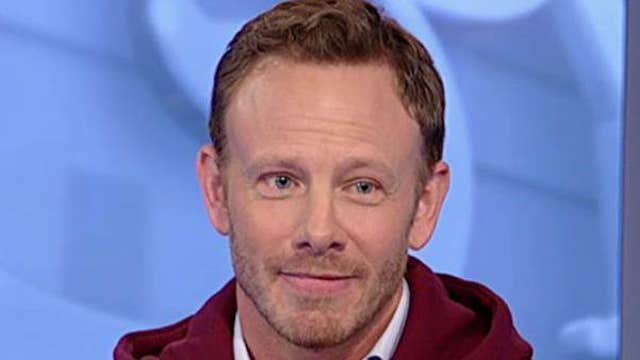 Actor Ian Ziering talks about his work on 'Sharknado' and his latest business venture.