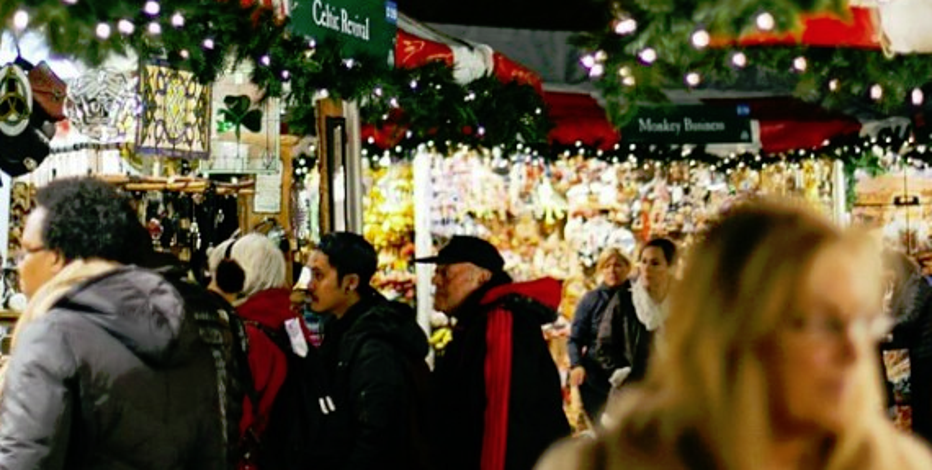 More than 150 small businesses compete for the attention of Big Apple shoppers at the Union Square Holiday Market.
