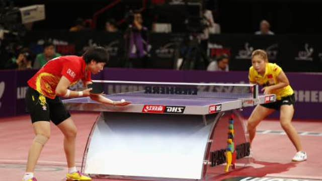 Table tennis: A problem-solving sport?
