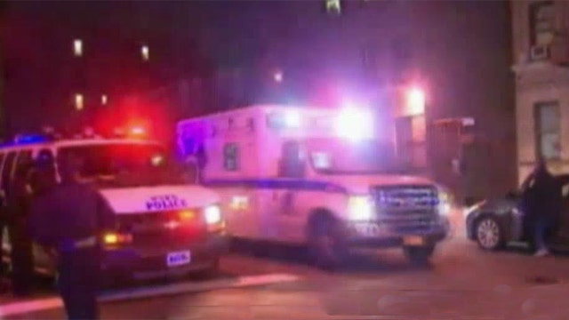 2 arrested in shootout that wounded 2 NYPD officers
