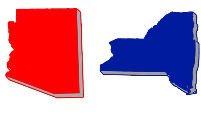 Are you better off living in a red state or blue state?