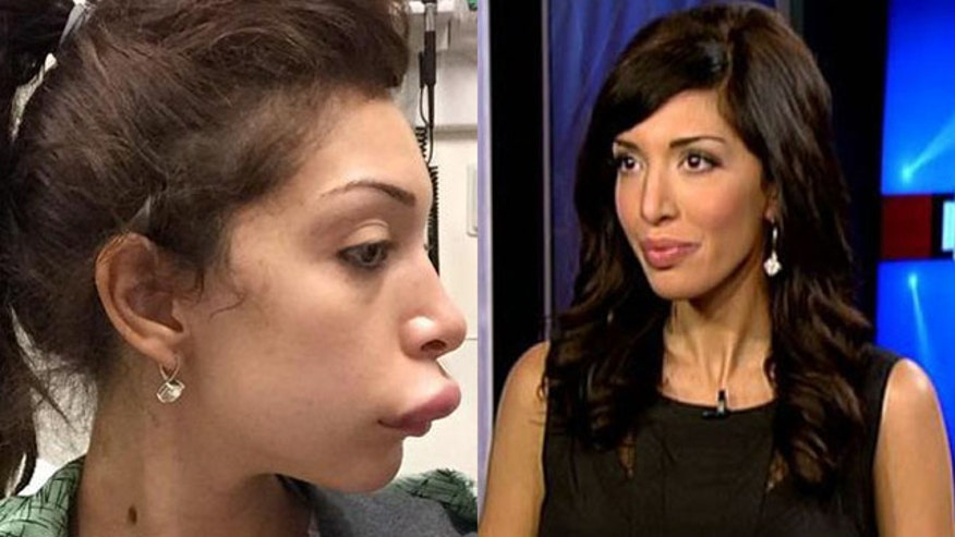 Four4Four: Farrah Abraham's botched lip surgery; Gaby Hoffmann makes a placenta smoothie; Urban Outfitters slapped for promoting 'inner thigh gap'; Tara Reid bares all.