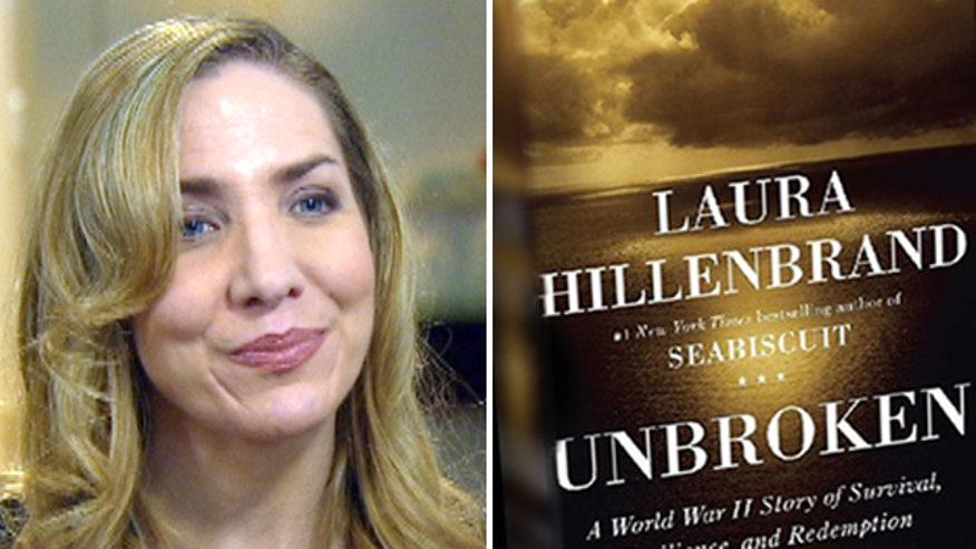 Laura Hillenbrand speaks to Fox News' James Rosen about her best-selling books 'Unbroken' and 'Seabiscuit'
