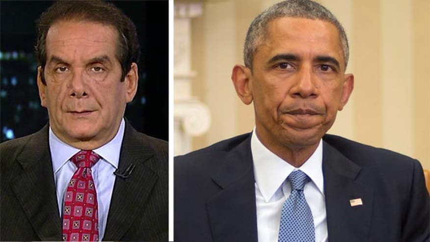 Krauthammer: Obama is 'ambivalent' about the war on terror