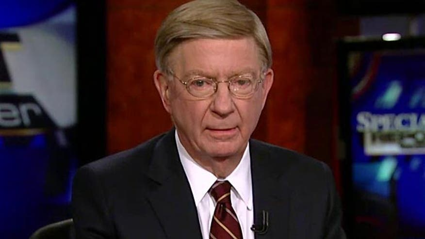 """George Will said Thursday on """"Special Report with Bret Baier"""" that in the wake of the Paris attack and other recent incidents of violence, the tide may be turning as far as the international community's response to - and intolerance for - acts of terror."""