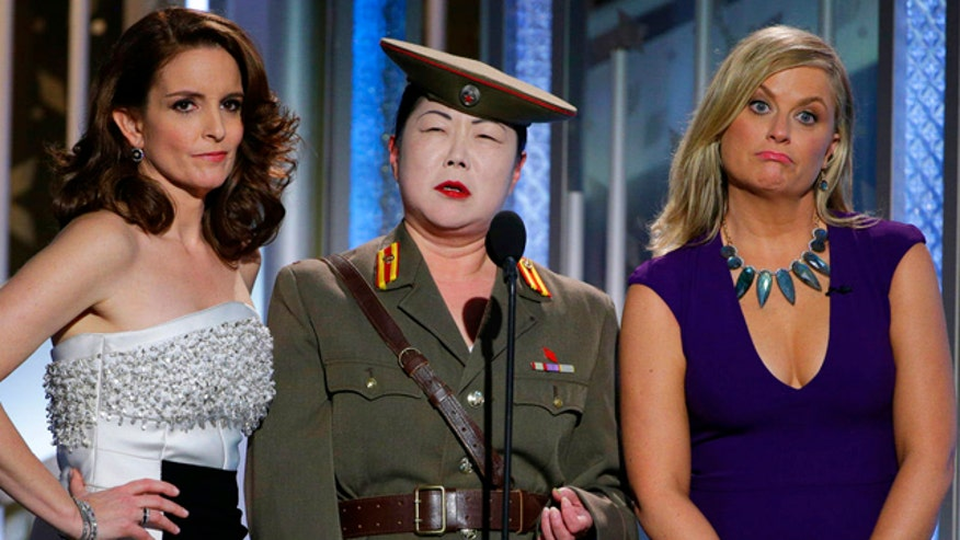 Show skewers North Korea hack scandal; stars honor victims of Paris terror attack