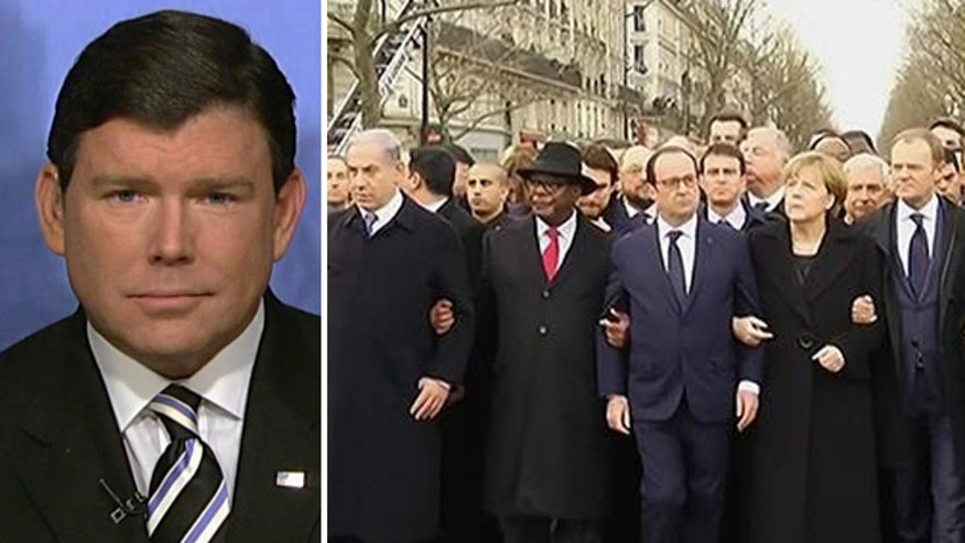 US leaders absent from weekend march in Paris; critics pounce on optics
