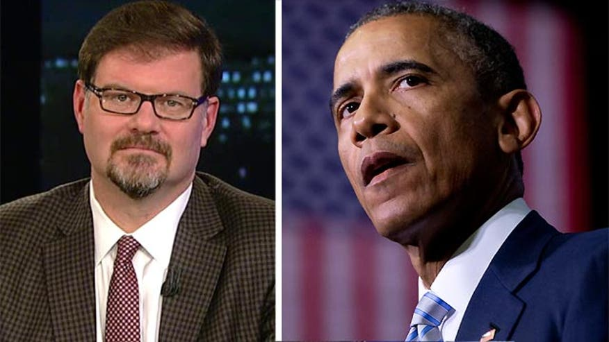 Jonah Goldberg told viewers Monday that President Obama's decision to skip a rally in Paris in the wake of mass shootings there underscores what he thinks is the administration's lackadaisical attitude on terrorist activity.