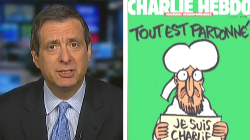 'Media Buzz' host on reaction to new Charlie Hebdo cover