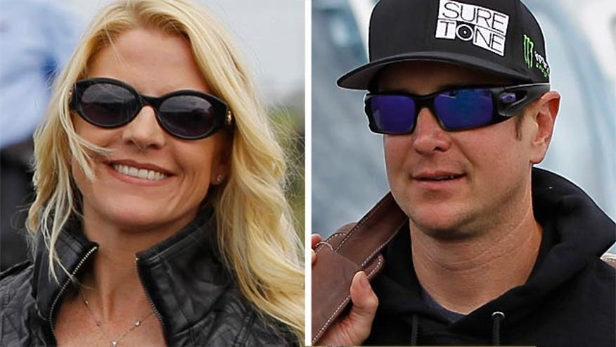 Patricia Driscoll requests no contact order for NASCAR driver, accuses him of assault