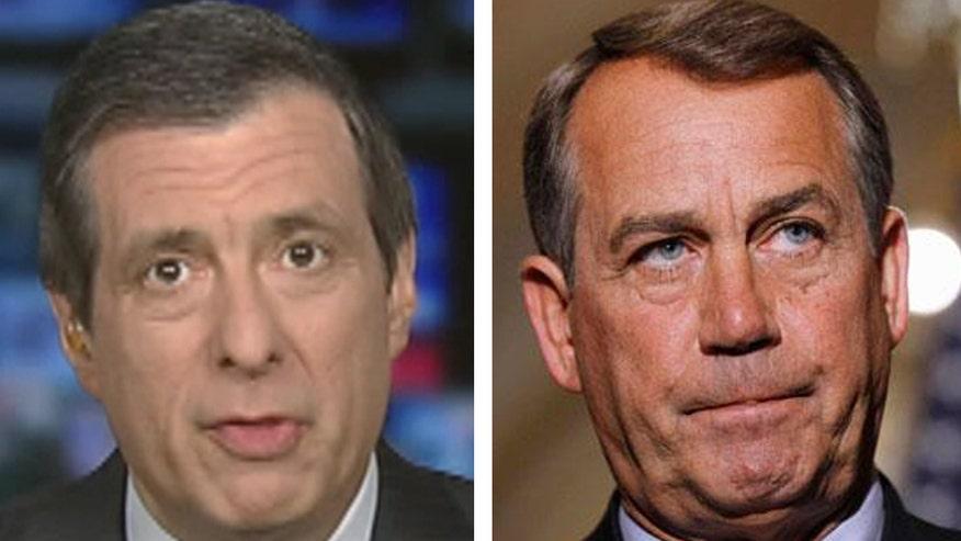 'Media Buzz' host on article making light of plot to kill House Speaker John Boehner