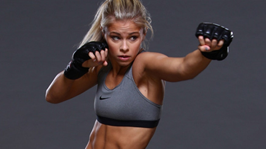 Paige VanZant loves to punch people in the face