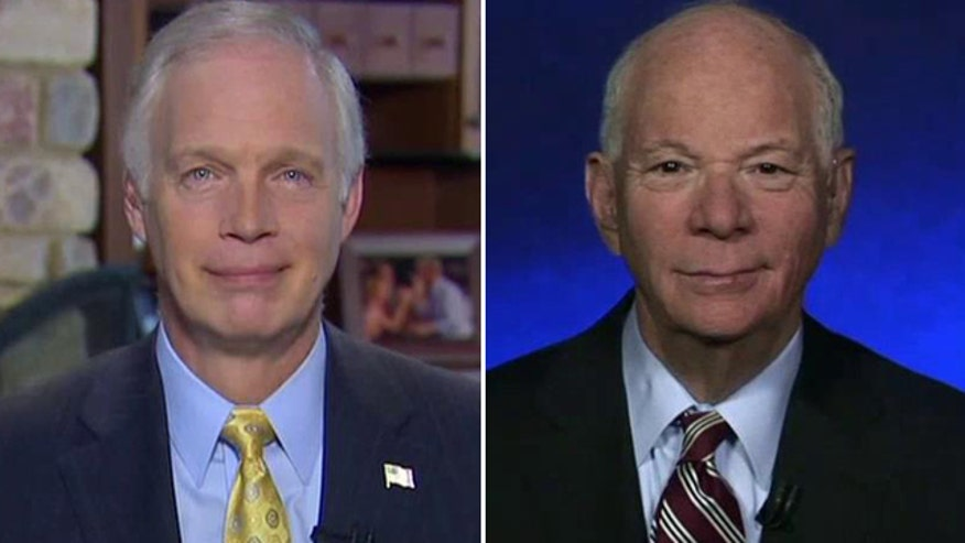 Reaction from Sens. Ron Johnson and Ben Cardin