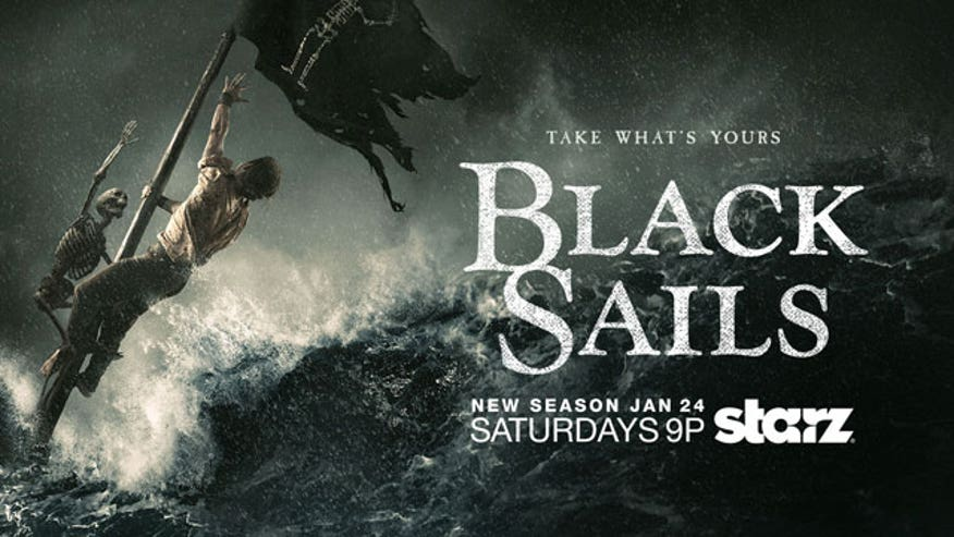 """Black Sails"" stars Toby Stephens and Hannah New on the swashbuckling second season of their new Starz series."