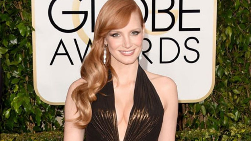 Jessica Chastain says she was told she wasn't pretty enough to act