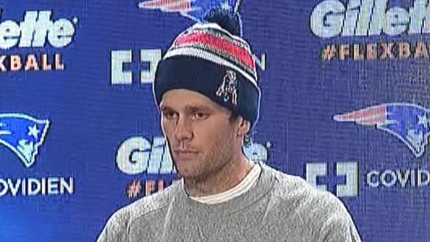 New England Patriots quarterback addresses 'deflate-gate' claims