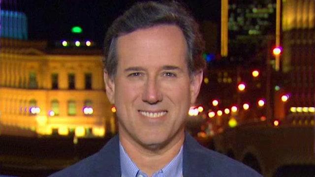Rick Santorum reacts to new developments for 2016 GOP field