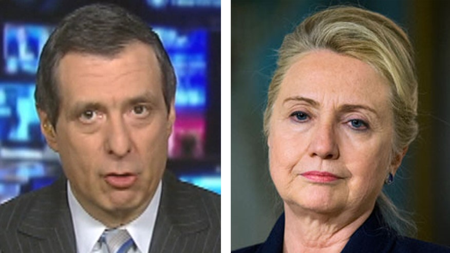 'Media Buzz' host on poll reaction to a Hillary Clinton White House run
