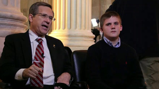 Young stroke victim attends State of the Union