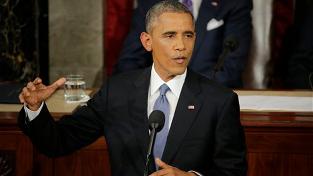 President sounds defiant tone at State of the Union
