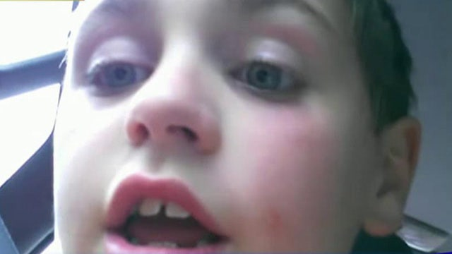 Pucker up! 7-year-old's first kiss reaction goes viral