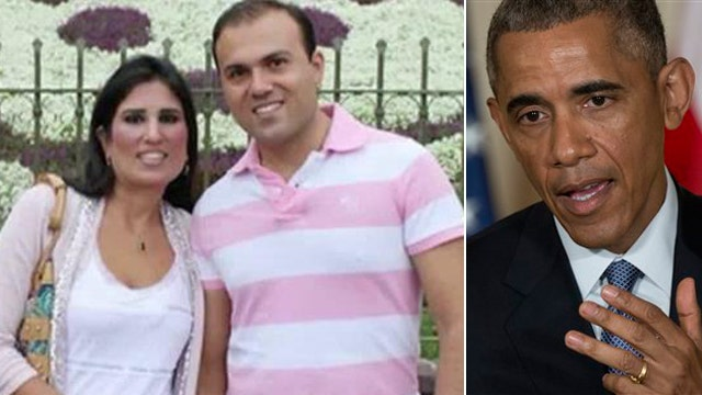 Wife of pastor jailed in Iran meets with President Obama