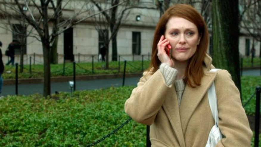 Julianne Moore gives emotional performance