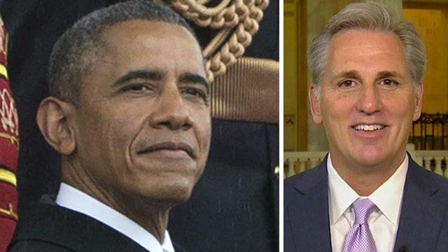 House majority leader: Obama 'can't have it both ways'