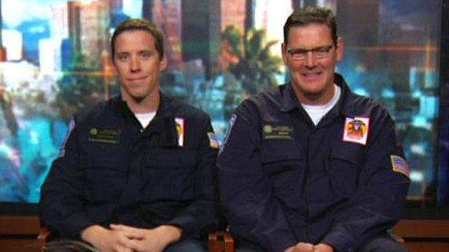Firefighters save passenger whose heart stopped on flight