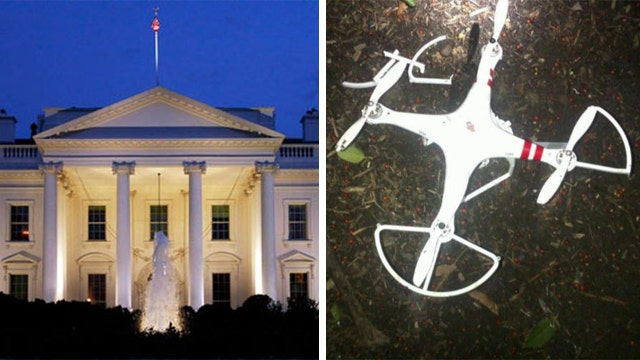 Commercial drone lands on White House lawn