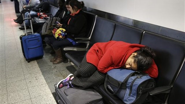 Thousands of travelers stranded in the wake of snowstorm