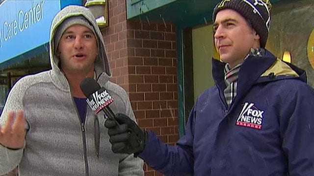 Jesse Watters, the big snow and global warming